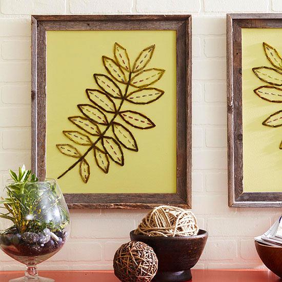 C mo hacer un cuadro bordado f cil gu a de manualidades for Articulos decorativos para casa