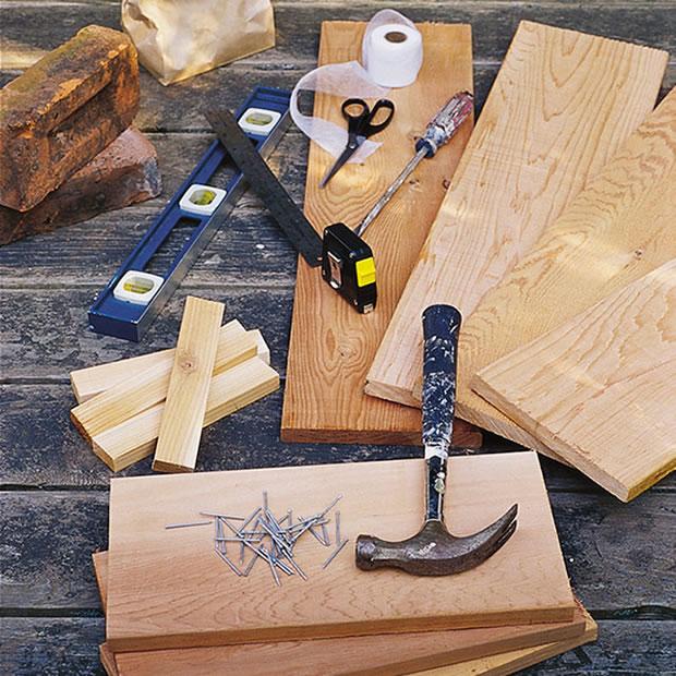 Fuente de madera DIY 2