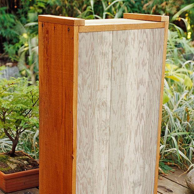 Fuente de madera DIY 3