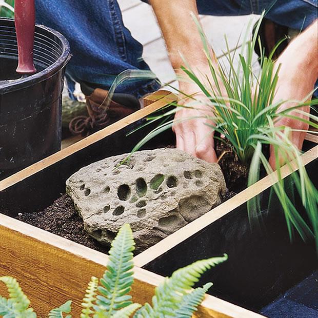Fuente de madera DIY 5