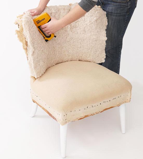 Retapizar una silla 5
