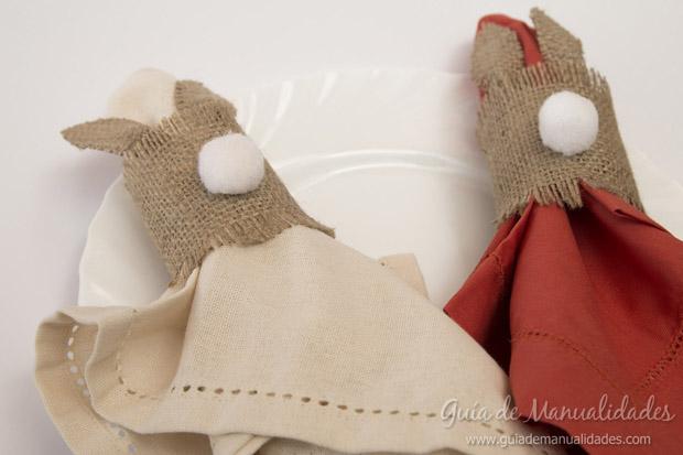 Servilleteros con forma de conejo 11