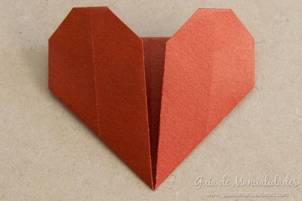 Corazón origami 11