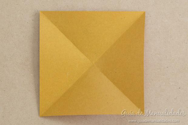 Corazón origami 4