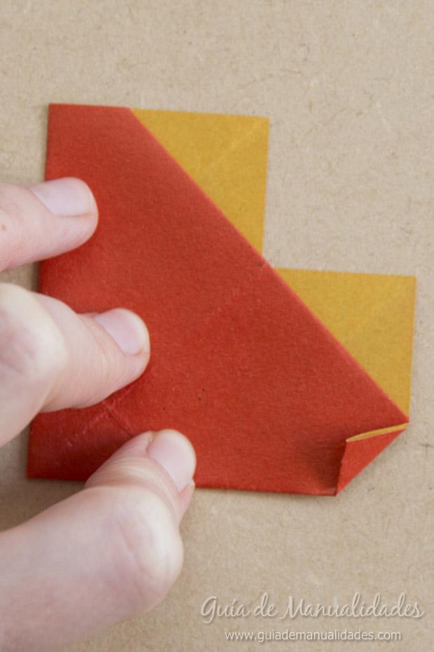 Corazón origami 9