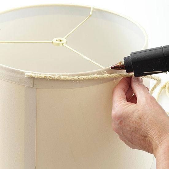 Lámpara rústica DIY 5