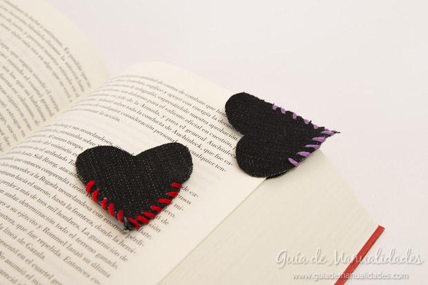 Señaladores corazón de jean 1