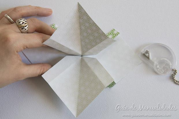 Moño de papel 18