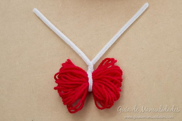 Mariposas con lana 4
