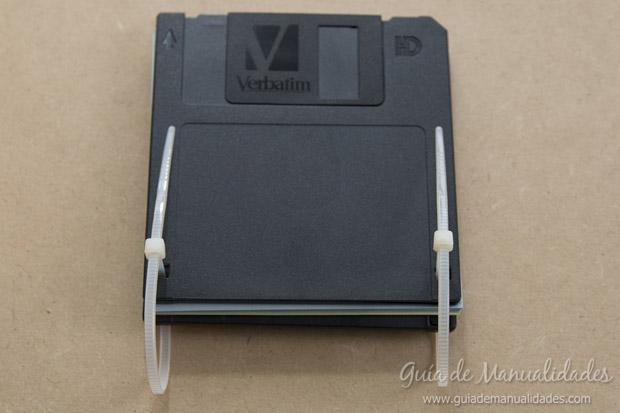 Anotador con diskettes 8