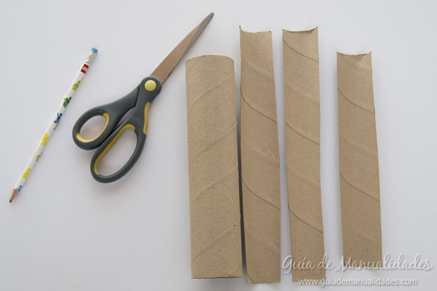 Castillo con tubos de cartón 2