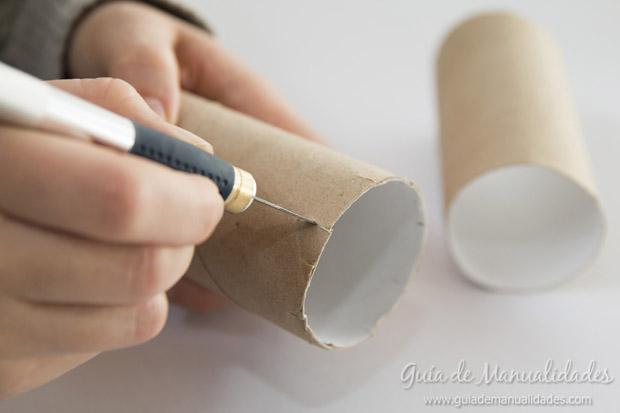 Castillo con tubos de cartón 3