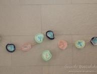 imagen Guirnalda y topper con moldes para cupcakes