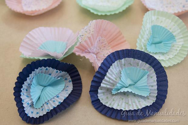 Guirnalda y topper cupcakes 8