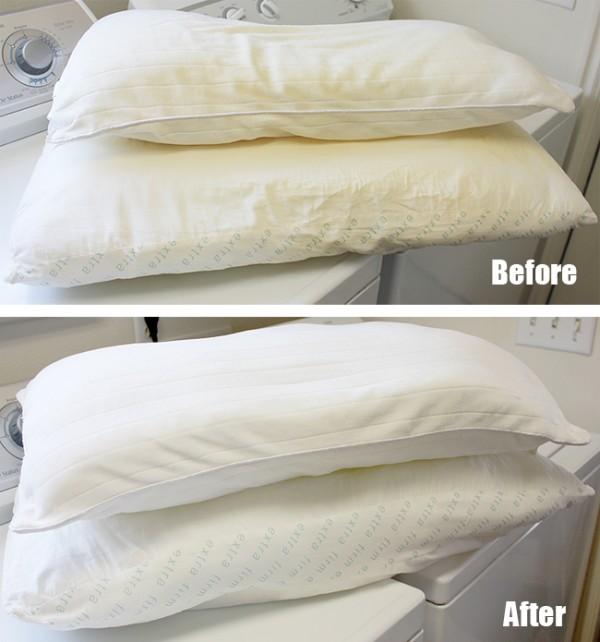C mo lavar las almohadas en la lavadora gu a de manualidades - Lavar almohadas en lavadora ...