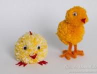 imagen Tiernos pollitos de lana