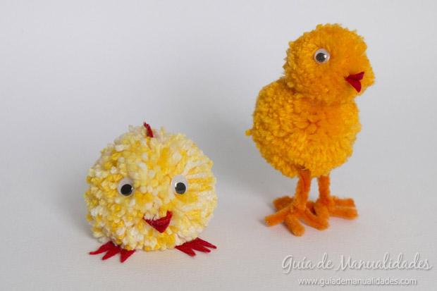 Pollitos con lana 1