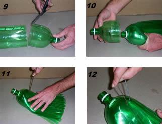 Escoba con botellas 3