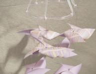 imagen Móvil con molinillos de papel