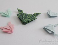 imagen Cómo hacer una ranita saltarina de origami