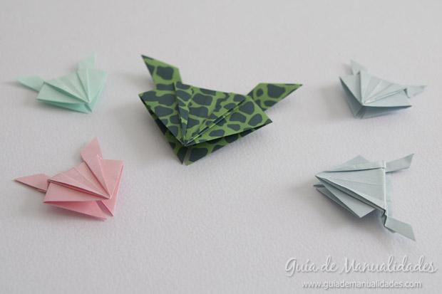 Rana de origami 1