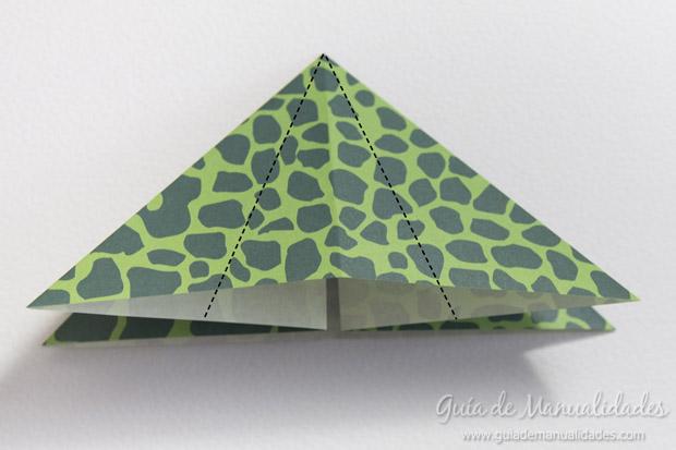 Rana de origami 10