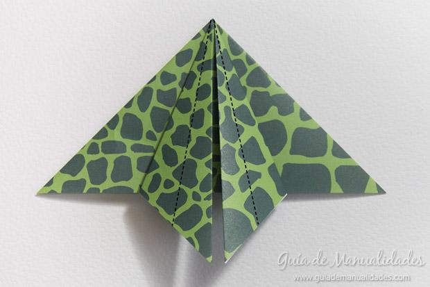 Rana de origami 11