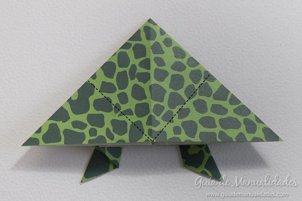 Rana de origami 15