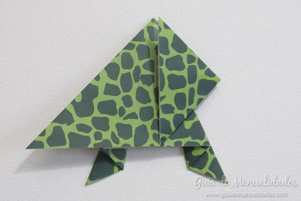 Rana de origami 16