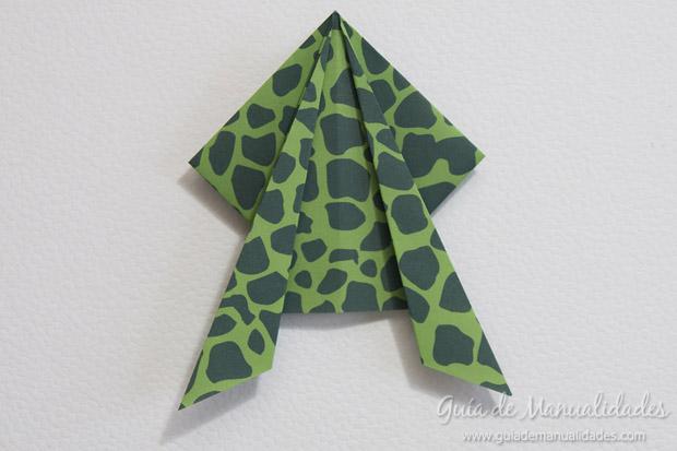 Rana de origami 17