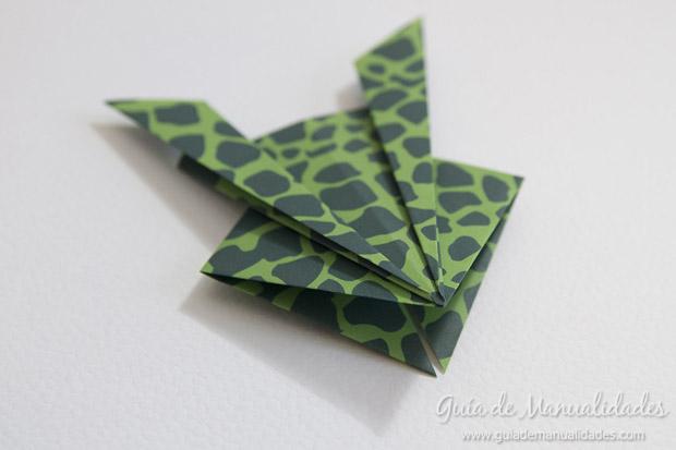 Rana de origami 18