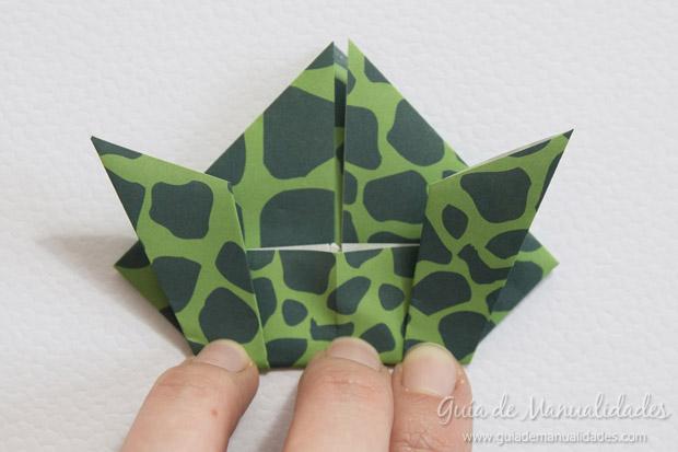 Rana de origami 19
