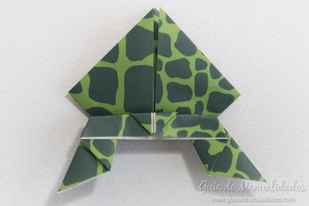 Rana de origami 21