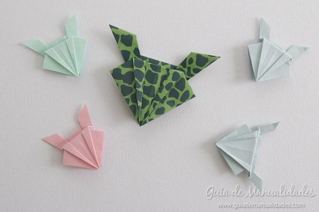 Rana de origami 23