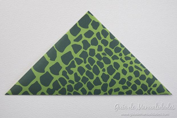 Rana de origami 3