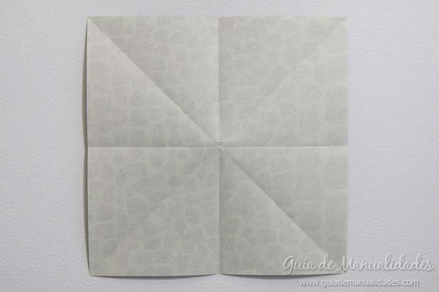 Rana de origami 7