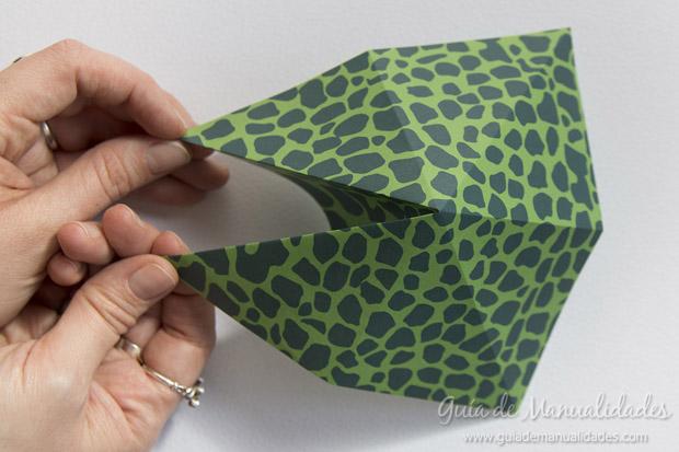Rana de origami 8
