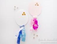 imagen Invitaciones con forma de globo para baby shower