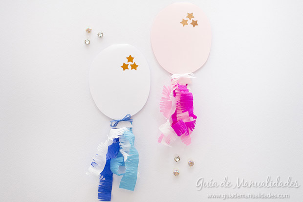 Globitos baby shower 1