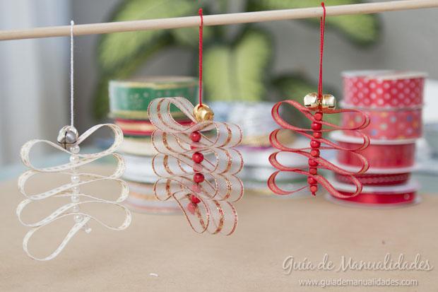 Adornos navideños cintas 9