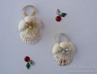 imagen Adornos para navidad con conchas marinas
