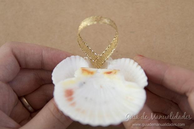 Adorno con conchas marinas 10
