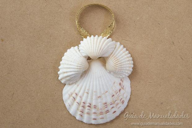 Adorno con conchas marinas 11