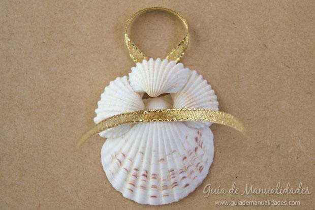 Adorno con conchas marinas 12