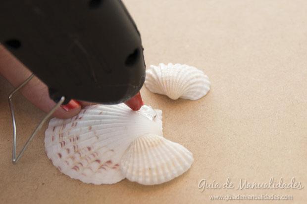 Adorno con conchas marinas 5