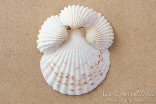 Adorno con conchas marinas 8