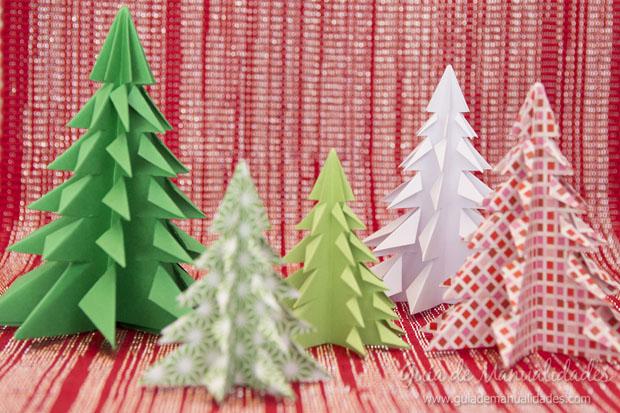 Arbolito navideño papel 11
