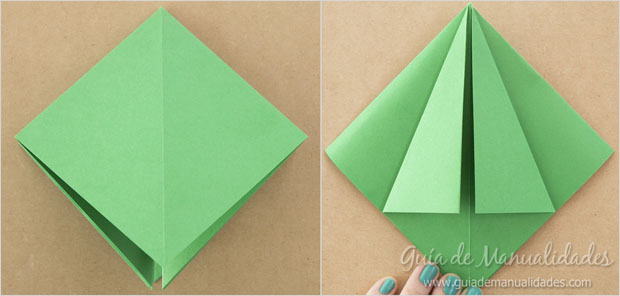 Arbolito navideño papel 4