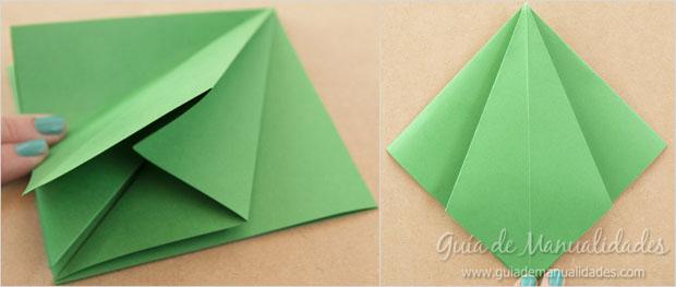 Arbolito navideño papel 6