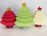 imagen Arbolitos de navidad para decorar la mesa